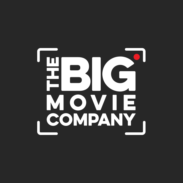 Logo design and revamp for The Big Movie Company Brisbane.