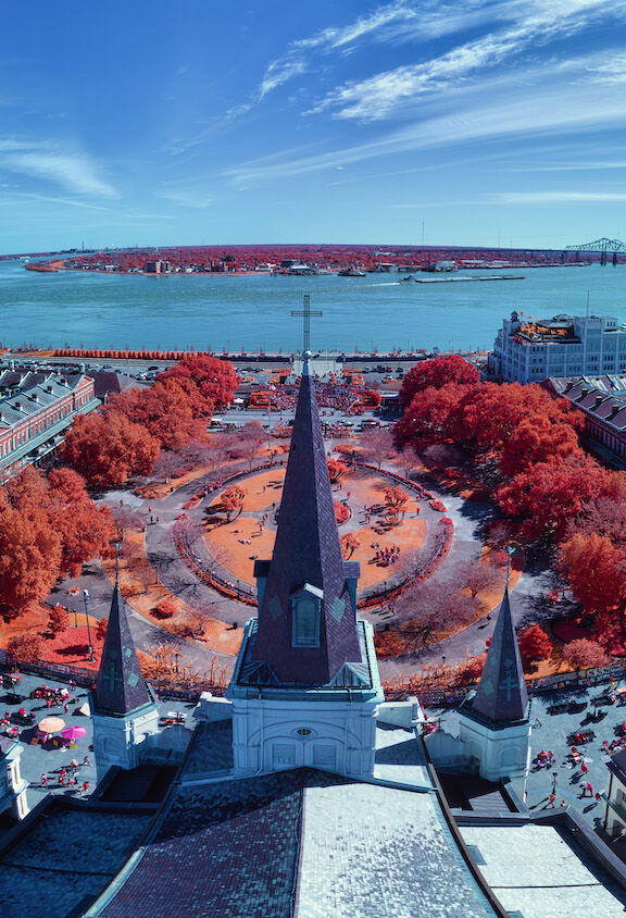 A view over St. Louis Cathedral