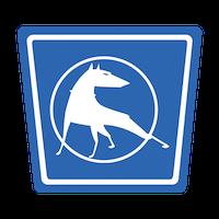 Mulholland Dog Square Logo