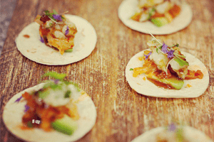 Canapes Catering Menu for Next Event
