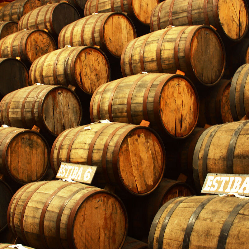 Tequila Barrels in refill-ready condition