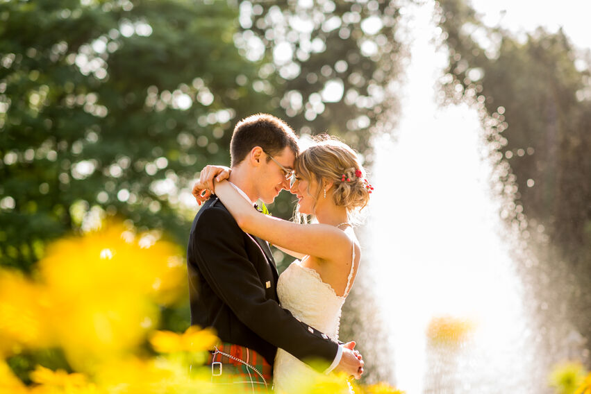 wedding photography at margam park