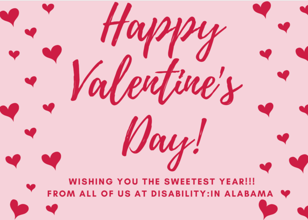 Wishing you the sweetest year!!! From all of us at disability:IN Alabama