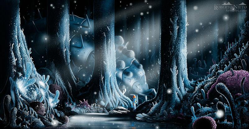 Fan art of Nausicaa. By Roberto Nieto - Syntetyc.com