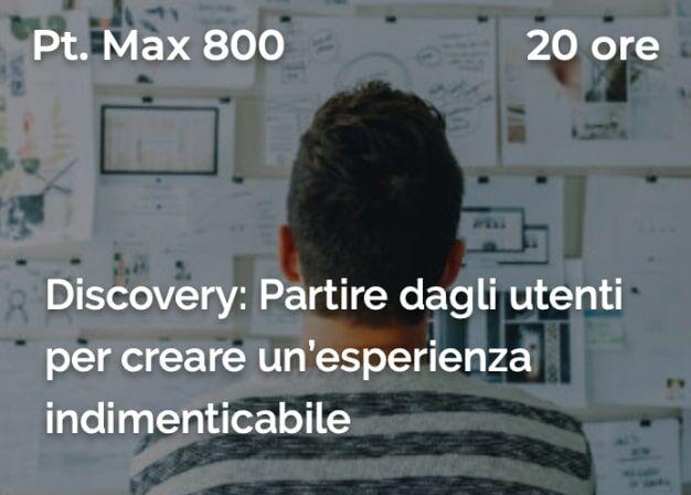 corso discovery ux ui