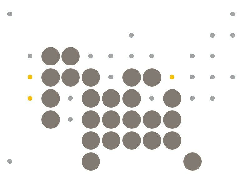How to create a Grid Map with circles in Excel 8