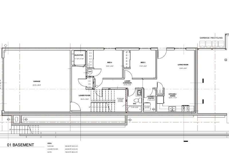 Floor Plan Lower   595 Vancouver Ave
