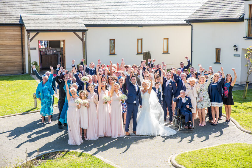 weddings at Oldwalls by Karl Baker