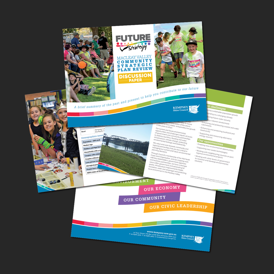 Kempsey Shire Council - Macleay Valley Community Strategic Plan Review Discussion Paper.