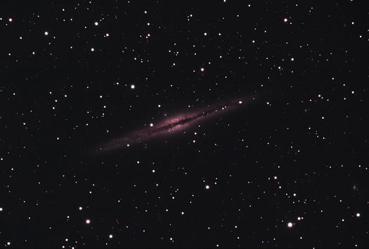 NGC 891 Live Stack