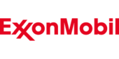 ExxonMobil logo and website link