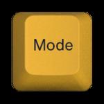 Mode key