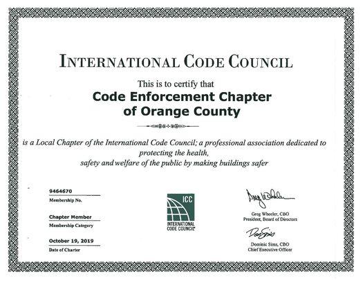 ICC Cert