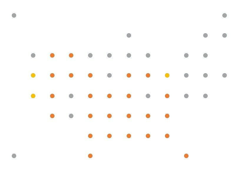 How to create a Grid Map with circles in Excel 7