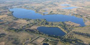 Big Swan Lake,Meeker County, MN