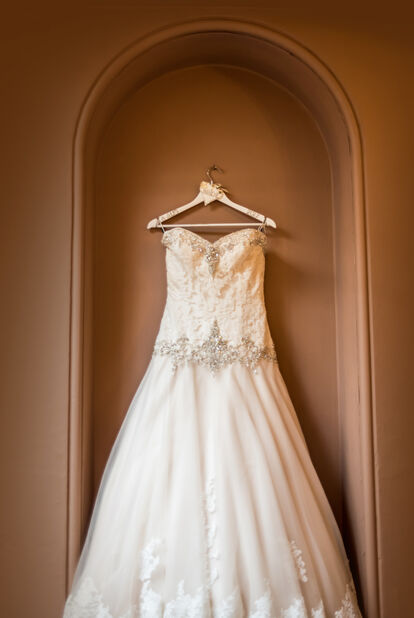 wedding dress in Bridgend