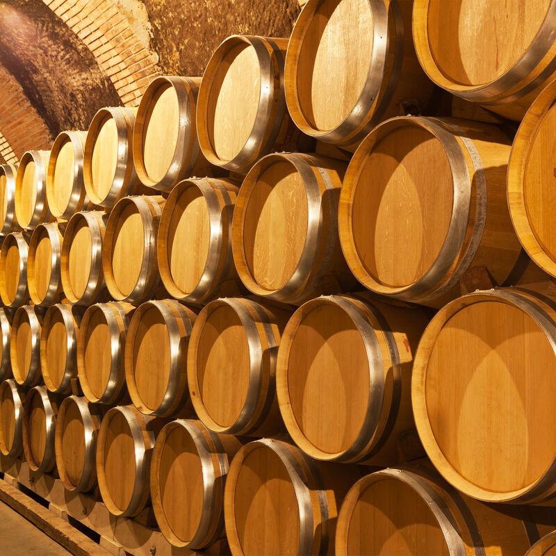 Destillatfässer aus spanischer Eiche