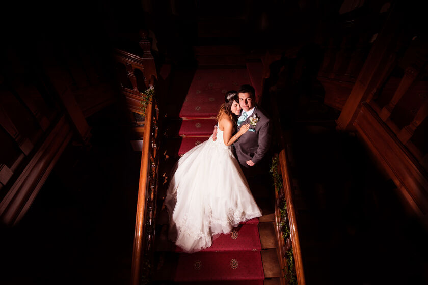 Wedding photography at Court Coleman Manor by Karl Baker