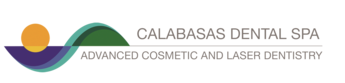 Logo of the Calabasas Dental Spa Advanced Cosmetic and Laser Dentistry office.