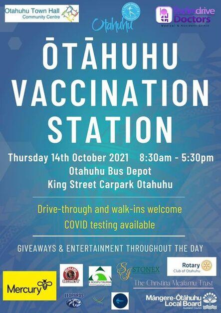 Otahuhu Vaccination Station