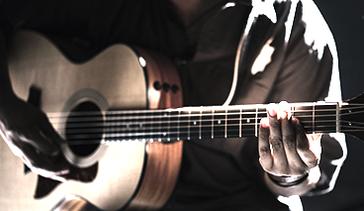 Friday Night Worship image - picture of man playing guitar