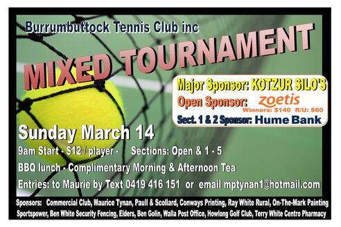 Mixed Tournament 21
