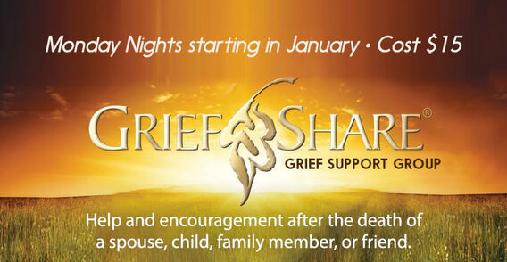 Help and Encouragement after the death of a spouse, child, family member or friend