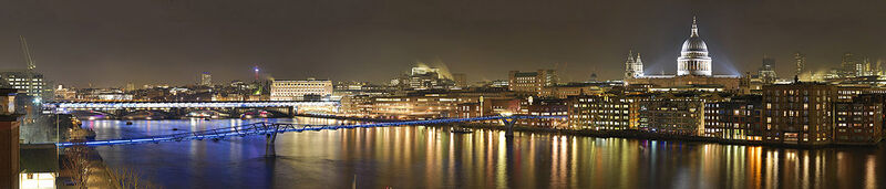 Millennium & Blackfriars Bridges with St Pauls sm