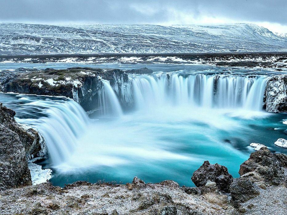 Iceland vacation Godafoss