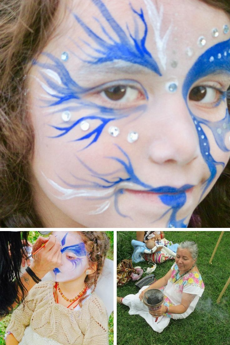 Composite Facepainting smudge
