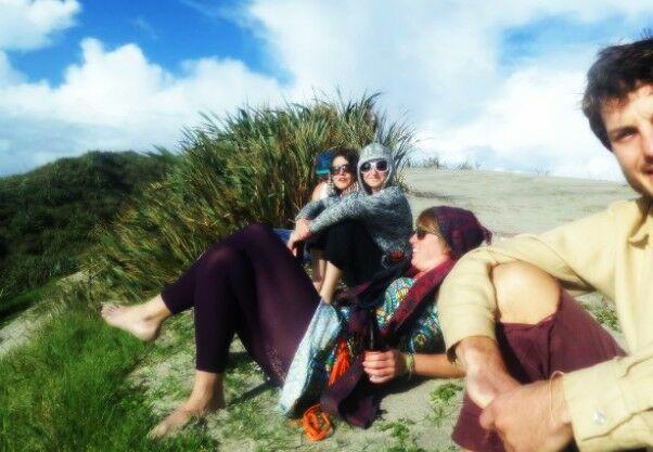 sand dunes, Puna Paua,   Mangarakau