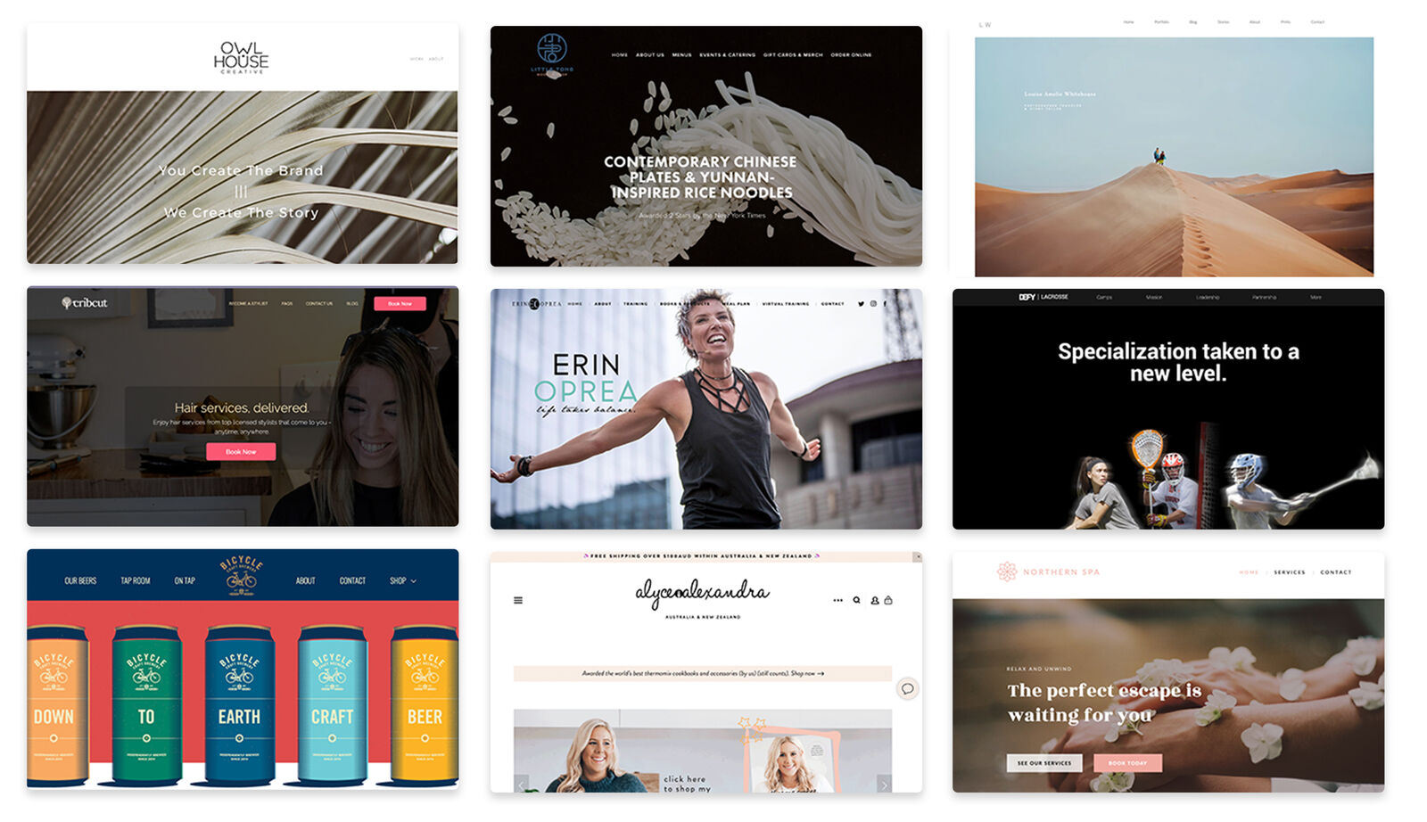 Top 20 Small Business Websites & Templates [Made Without Code]