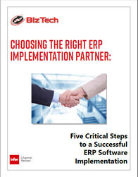 five critical steps to a successful ERP software implementation