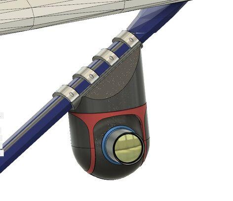 Methane Gas leak aerial filming system.