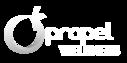 Propel Logo 5 Inch White