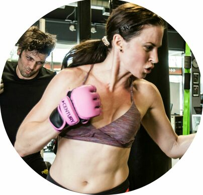 Impact Kickboxing classes Awarded Angela the body seh wanted.
