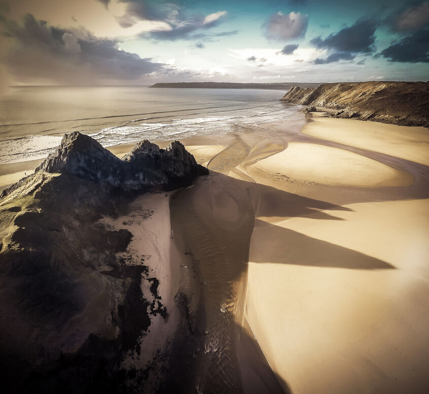 Three Cliffs Bay Gower