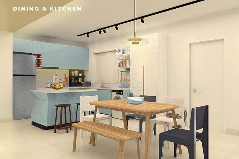 02 Dining Kitchen