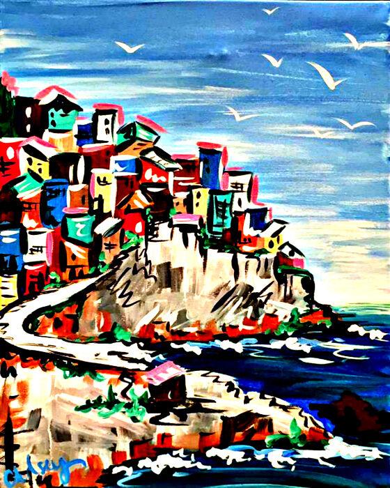 Ocean Front City, Ocean Front Town
