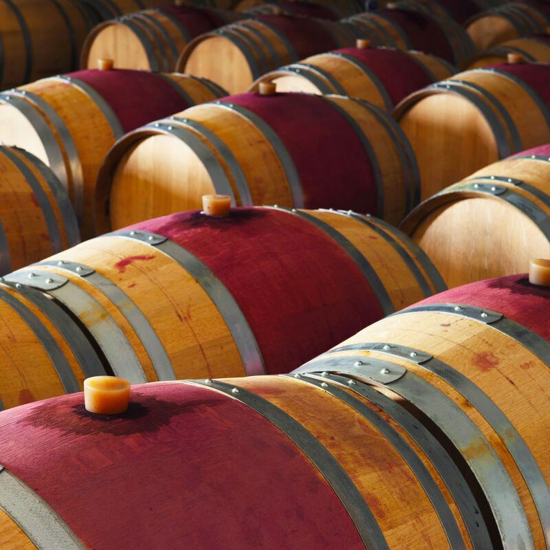 Red Wine Barrels in refill-ready condition