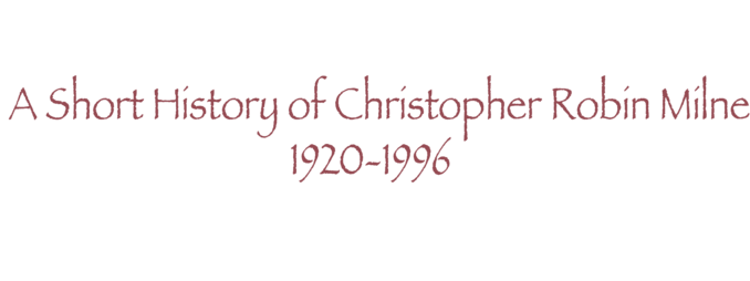 chris milne short history