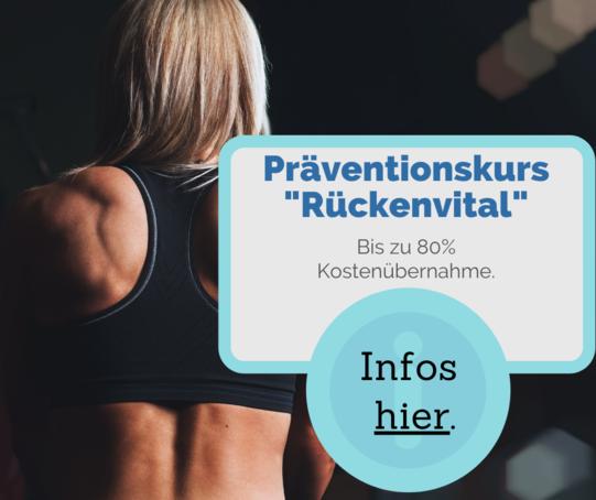 Präventionskurs Facebook Anzeige