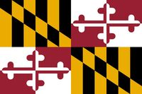 An image of Maryland state flag