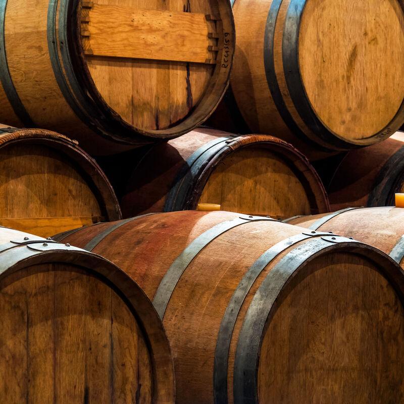 Vorbelegte Calvadosfässer zur Wiederbelegung