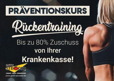 Präventionskurs Rückenvital zum Rückentraining und Muskulaturaufbau.