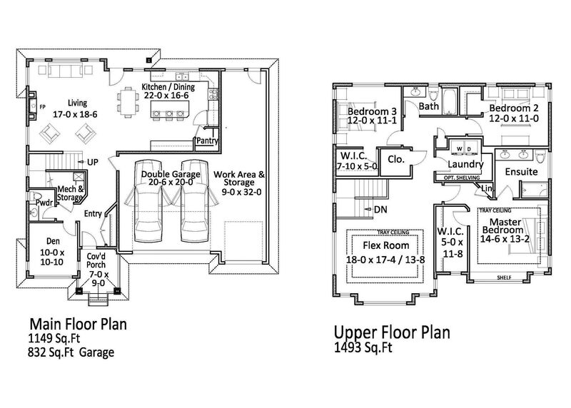 Floor Plan, Inside   179 Sendero Cres