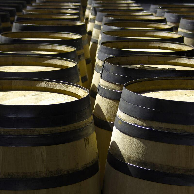 Vorbelegte Sherryfässer zur Wiederbelegung