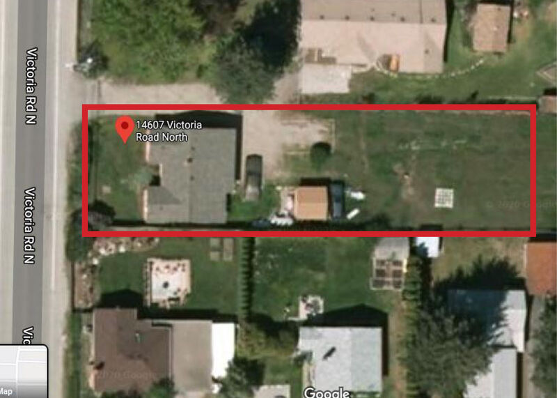 Zoning from Google Maps   14607 Victoria Rd N