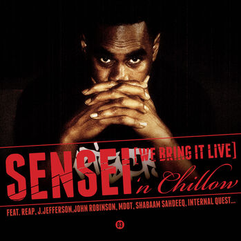 This Is the albumcover of Sensei 'n Chillow, the 3rd and final chapter of the ['n chillow Series]