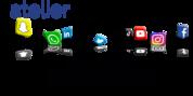 Logo Les réseaux sociaux